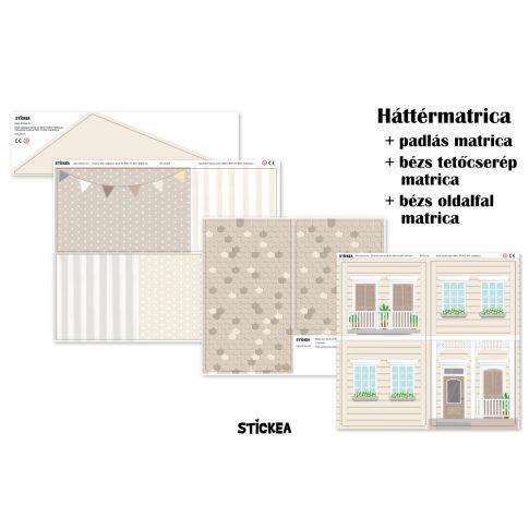 Tejeskávé ihlette matrica - IKEA Flisat babaház