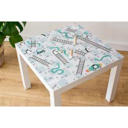 Kígyók és létrák társasjáték matrica - LACK asztalra