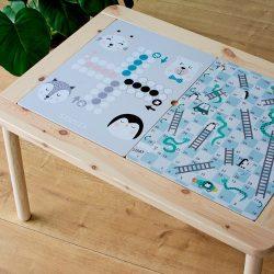 Társasozni jó! matrica - FLISAT asztalra