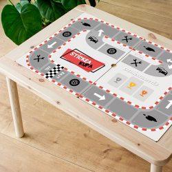 A nagy futam matrica - FLISAT asztalra