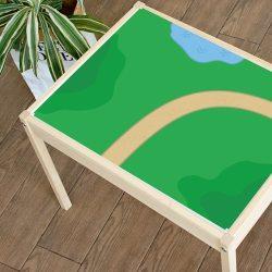 Zöldellő vidék matrica - LÄTT asztalra