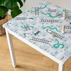 Kígyók és létrák matrica - KRITTER asztalra
