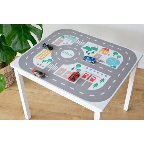 Városi utak - színes matrica - KRITTER asztalra