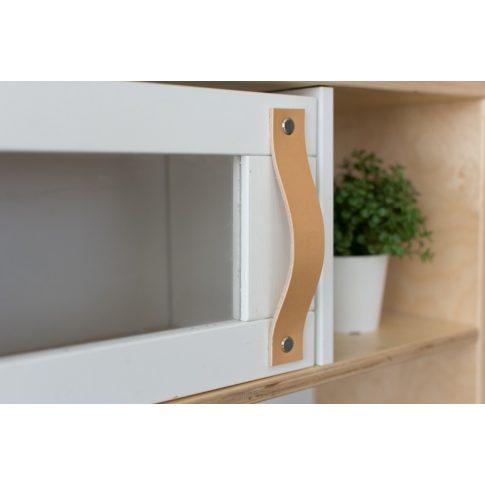 Bőrfogantyú szett (3 db) - natúr - IKEA Duktig játék konyhára