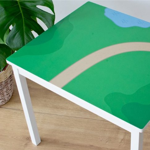 Zöldellő vidék matrica  - KRITTER asztalra