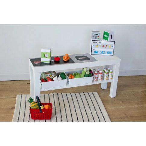 Pénztárszalag matrica - IKEA LACK TV állványra