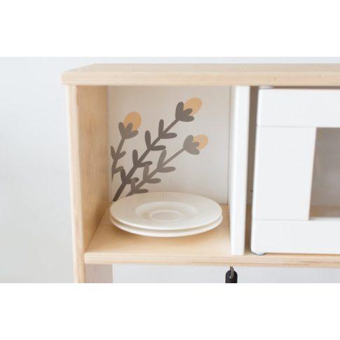 Virágos matrica - DUKTIG játék konyhára