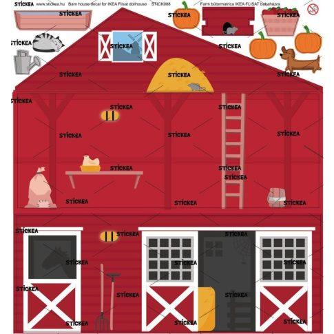 Az én farmom matrica - IKEA Flisat babaházra