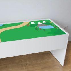 Zöldellő matrica - Dundra asztalra