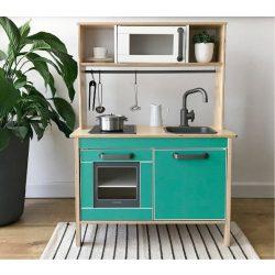 Alsószekrény matrica szett - mentalevél - DUKTIG játék konyhára