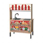 Karácsonyi vásár matrica - DUKTIG játék konyhára