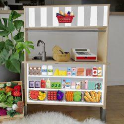 Kisbolt matrica - IKEA Duktig játék konyhára
