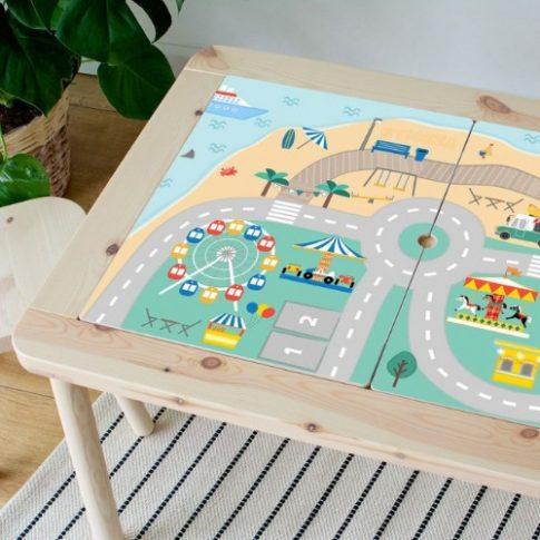 Vidámparkos kaland - FLISAT asztalra