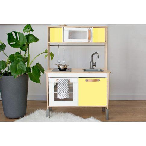 Sárga matrica - IKEA Duktig játék konyhára