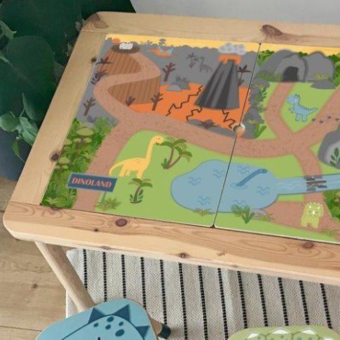 Dínó világ - FLISAT asztalra