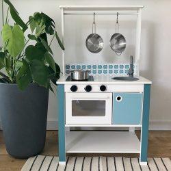 Kék matricacsomag - SPISIG játék konyhára