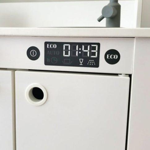Mosogatógép matrica - SPISIG játék konyhára