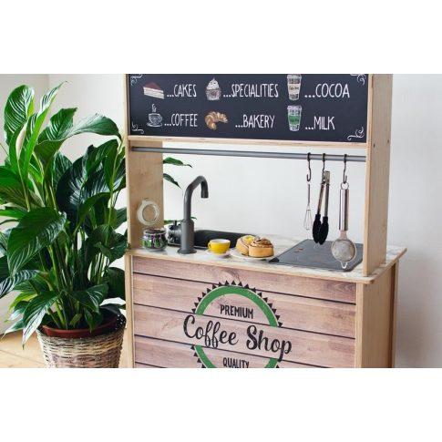 Kávézó barna - DUKTIG játék konyhára