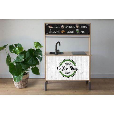 Kávézó fehér - DUKTIG játék konyhára