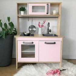 Teljes matrica szett - pasztell rózsaszín - DUKTIG játék konyhára