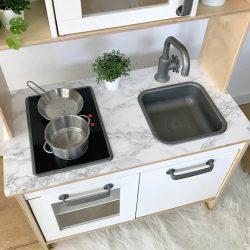 Márványmintás matrica - IKEA Duktig játék konyhára (3 szín)