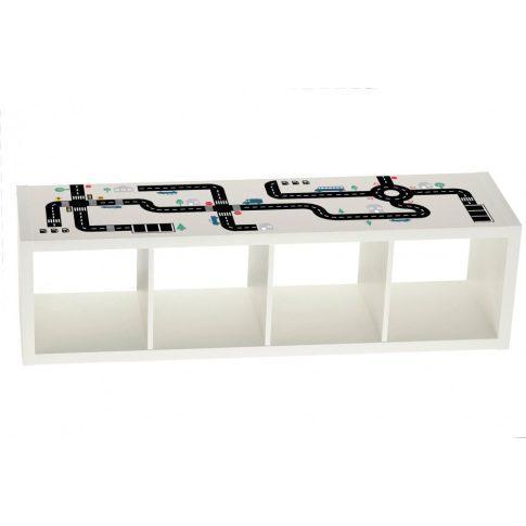 Autópálya matrica - KALLAX vagy bármilyen bútorra - nagy csomag
