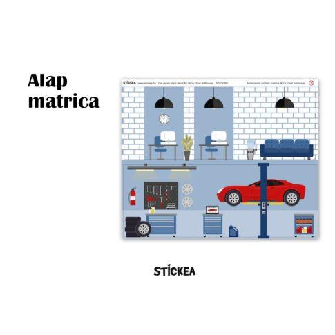 Az én autószerelő műhelyem - IKEA FLISAT babaházra