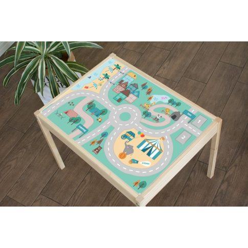 Családi vakáció matrica - LÄTT asztalra