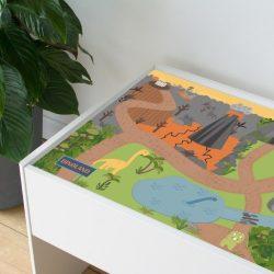 Dinó világ matrica - Dundra asztalra