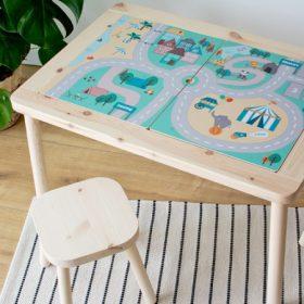 Matrica IKEA FLISAT asztalra
