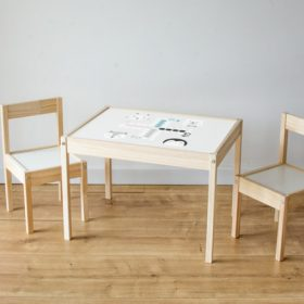 Matrica IKEA LÄTT asztalra